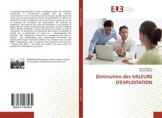 Capa do livro de Diminution des VALEURS D'EXPLOITATION