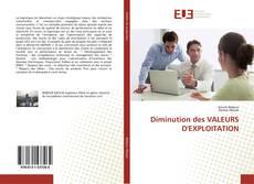 Bookcover of Diminution des VALEURS D'EXPLOITATION