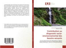 Bookcover of Contribution au diagnostic socio-environnemental des bassins versants