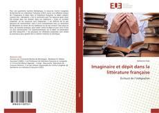Couverture de Imaginaire et dépit dans la littérature française