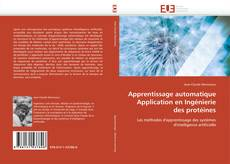Capa do livro de Apprentissage automatique Application en Ingénierie des protéines