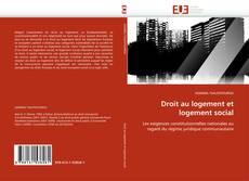 Bookcover of Droit au logement et logement social