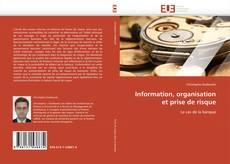 Information, organisation et prise de risque kitap kapağı