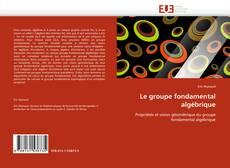 Bookcover of Le groupe fondamental algébrique