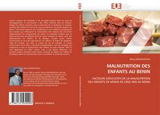 Bookcover of MALNUTRITION DES ENFANTS AU BENIN