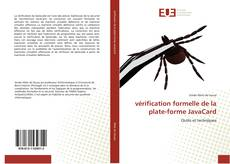 Bookcover of vérification formelle de la plate-forme JavaCard