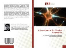 Portada del libro de A la recherche du Principe d'adhésion