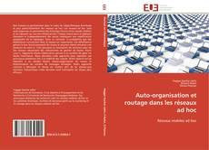 Buchcover von Auto-organisation et routage dans les réseaux ad hoc