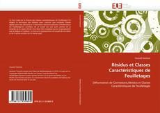 Обложка Résidus et Classes Caractéristiques de Feuilletages