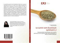 Le cumin vert (Cuminum cyminum L.)的封面