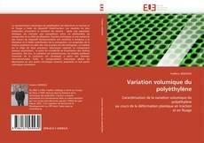Обложка Variation volumique du polyéthylène