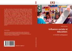 Couverture de Influence sociale et éducation: