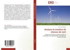 Couverture de Analyse et création de vitesses de vent