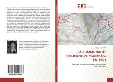 Обложка LA COMMUNAUTÉ ITALIENNE DE MONTRÉAL EN 1901