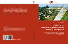 Les idées et les mouvements réformistes en Corée et au Việt Nam kitap kapağı