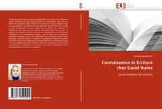 Bookcover of Connaissance et Ecriture chez David Hume