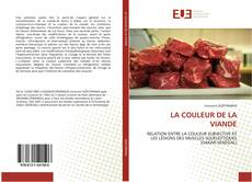 Обложка LA COULEUR DE LA VIANDE