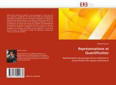 Représentations et Quantification kitap kapağı