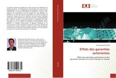 Bookcover of Effets des garanties autonomes