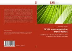 Buchcover von SEVAI, une coopération franco-tamile
