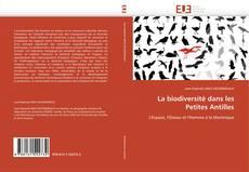 Buchcover von La biodiversité dans les Petites Antilles