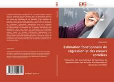 Couverture de Estimation fonctionnelle de régression et des erreurs corrélées
