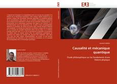 Causalité et mécanique quantique kitap kapağı