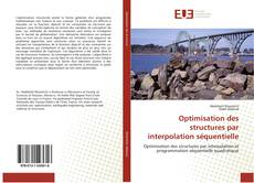 Buchcover von Optimisation des structures par interpolation séquentielle