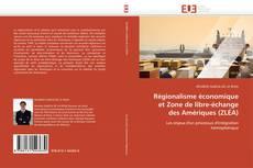 Régionalisme économique et Zone de libre-échange des Amériques (ZLÉA) kitap kapağı