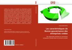 Buchcover von Les caractéristiques de Bonne gouvernance des entreprises cotées