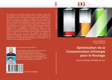 Capa do livro de Optimisation de la Consommation d'Energie pour le Routage