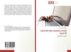Buchcover von sécurité des réseaux mesh sans fil