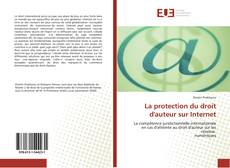 Bookcover of La protection du droit d''auteur sur Internet