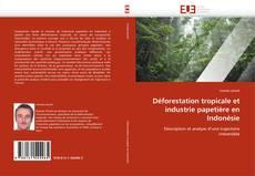 Bookcover of Déforestation tropicale et industrie papetière en Indonésie