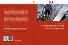 """Buchcover von """"Faire le métier"""" de cycliste"""