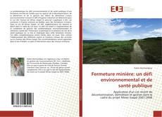 Bookcover of Fermeture minière: un défi environnemental et de santé publique