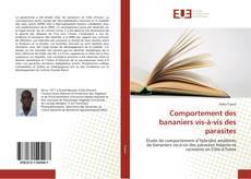 Buchcover von Comportement des bananiers vis-à-vis des parasites