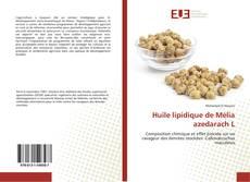 Borítókép a  Huile lipidique de Mélia azedarach L - hoz