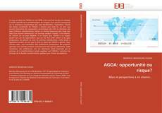 Bookcover of AGOA: opportunité ou risque?