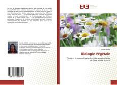 Buchcover von Biologie Végétale