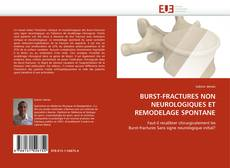 Buchcover von BURST-FRACTURES NON NEUROLOGIQUES ET REMODELAGE SPONTANE