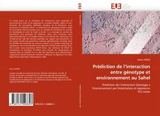 Bookcover of Prédiction de l''interaction entre génotype et environnement au Sahel