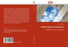 Bookcover of Online Dispute Resolution