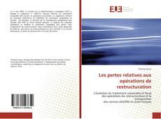 Bookcover of Les pertes relatives aux opérations de restructuration