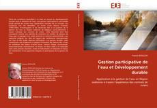 Bookcover of Gestion participative de l'eau et Développement durable