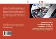 Portada del libro de Comportement environnemental de granulats artificiels