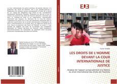 Portada del libro de LES DROITS DE L'HOMME DEVANT LA COUR INTERNATIONALE DE JUSTICE