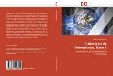 Capa do livro de Archéologie de l'informatique, Tome 2