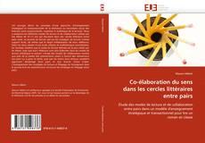 Bookcover of Co-élaboration du sens dans les cercles littéraires entre pairs