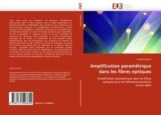 Amplification paramétrique dans les fibres optiques kitap kapağı